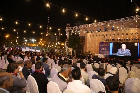 Zia Mohiyeddin Session In 12th Aalmi Urdu Conference At Arts Council Karachi  (3)