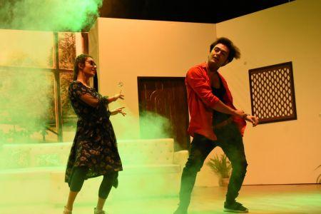 \'3 Bicharey\' A Play By Anumhaq At Arts Council Karachi (1)