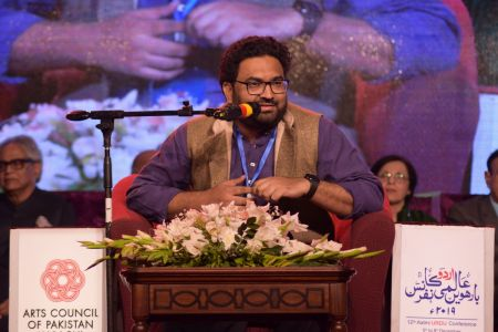3rd Day, Session Aalmi Mushaira In Aalmi Urdu Conference 2019 At Arts Council Karachi (12)