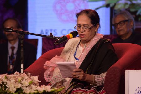 3rd Day, Session Aalmi Mushaira In Aalmi Urdu Conference 2019 At Arts Council Karachi (17)
