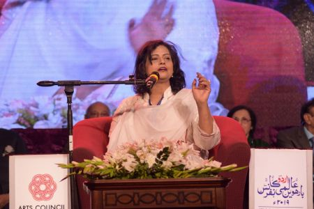 3rd Day, Session Aalmi Mushaira In Aalmi Urdu Conference 2019 At Arts Council Karachi (9)