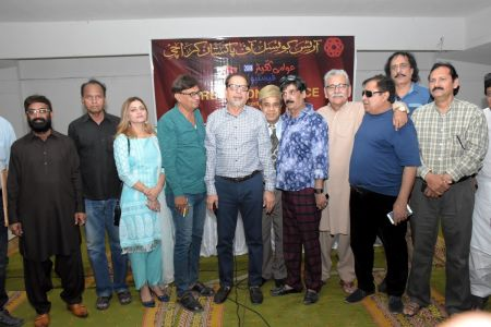 During Press Conference For Awami Theater Festival 2018 (10)