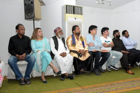 During Press Conference For Awami Theater Festival 2018 (6)