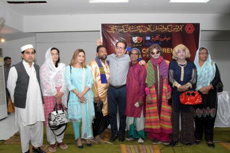 During Press Conference For Awami Theater Festival 2018 (9)