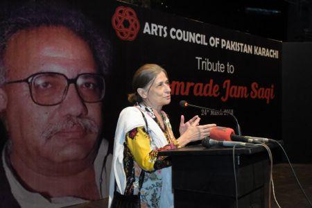 Tribute To Camrade Jam Saqi At Arts Council Karachi (10)