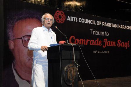 Tribute To Camrade Jam Saqi At Arts Council Karachi (11)