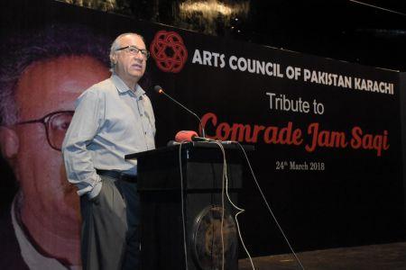 Tribute To Camrade Jam Saqi At Arts Council Karachi (12)