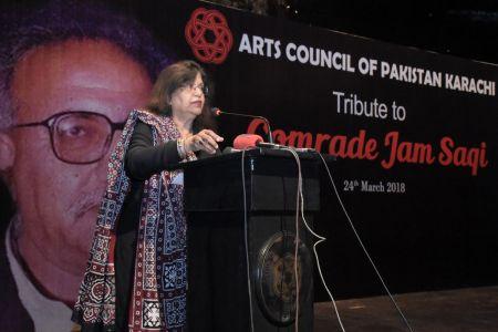 Tribute To Camrade Jam Saqi At Arts Council Karachi (13)