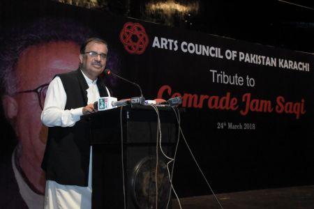 Tribute To Camrade Jam Saqi At Arts Council Karachi (16)