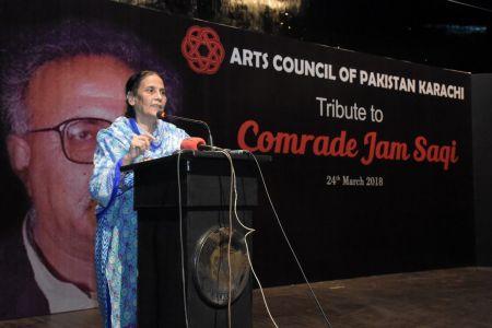 Tribute To Camrade Jam Saqi At Arts Council Karachi (6)