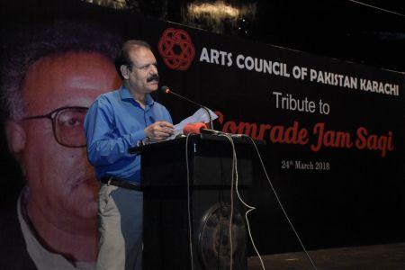 Tribute To Camrade Jam Saqi At Arts Council Karachi (8)