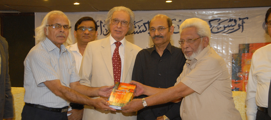 Book Launch of Poet Serwer Javed