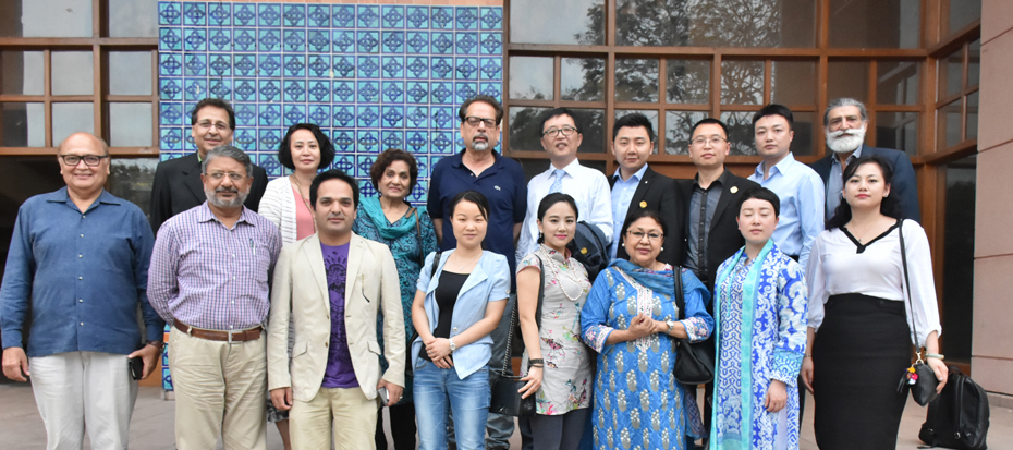Chines Delegation Visited Arts Council