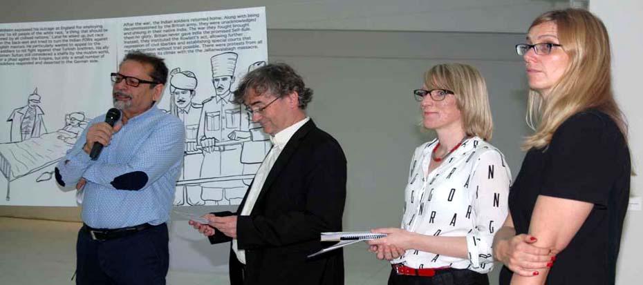 Exhibition/Workshop/Screenings by Goethe Institute