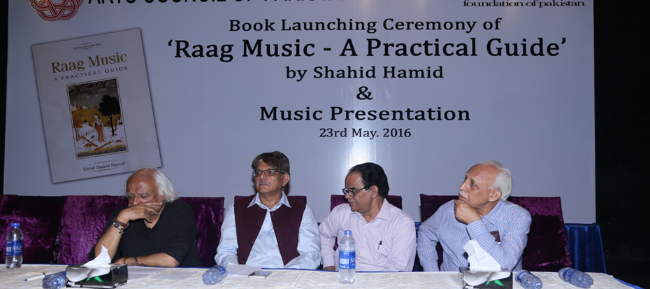 "Launching Ceremony of ""Raag Music – A Practical Guide"""
