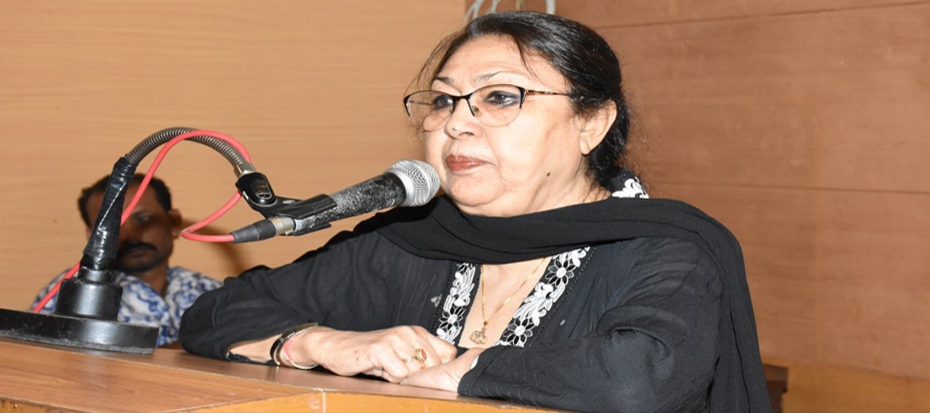 Lecture of Renowned Artist Nahid Raza