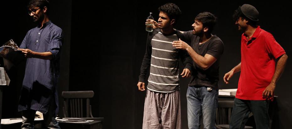 "Sindh Theater Festival, Drama ""Tasadum"""