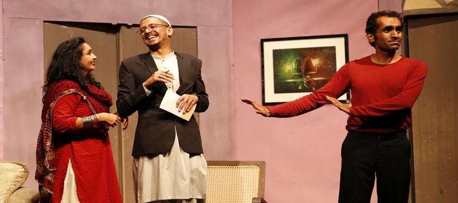 """Sindh Theater Festival, Urdu Play '""""Bhard Mein Jae Mohabbat'"""