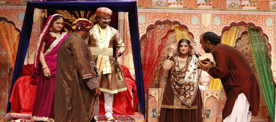 "Sindh Theater Festival, Play of the day ""Gul Chhino Girnaar Jo""."