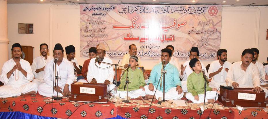 Sufiana Rang, Qawali night with Iqbal Shaad