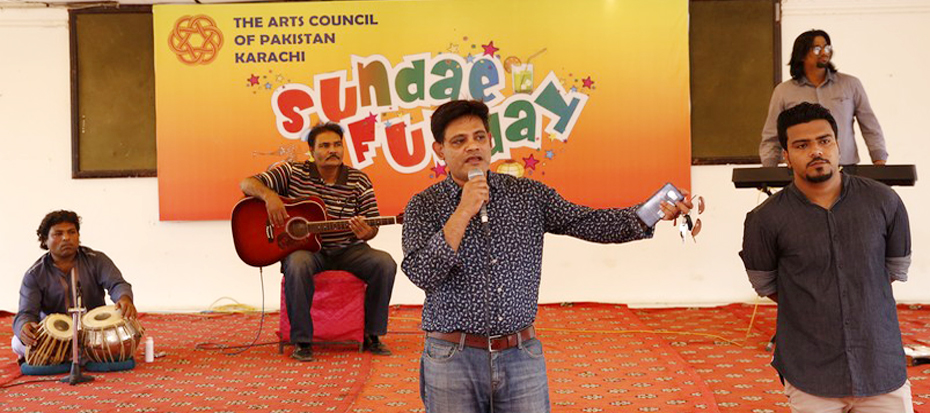 Open mic youth's event 'Sunday Funday' start again