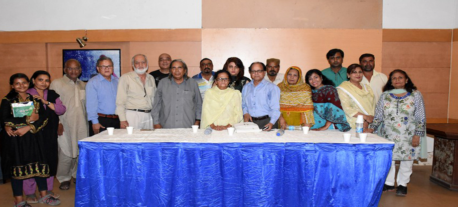 An evening with prominent poet Hasan Fatehpuri