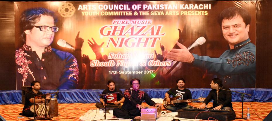 Ghazal Night with Suhail, Shoaib Najmi and others
