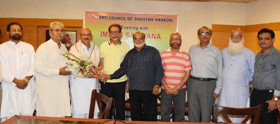 An evening with member Imran Sarwana
