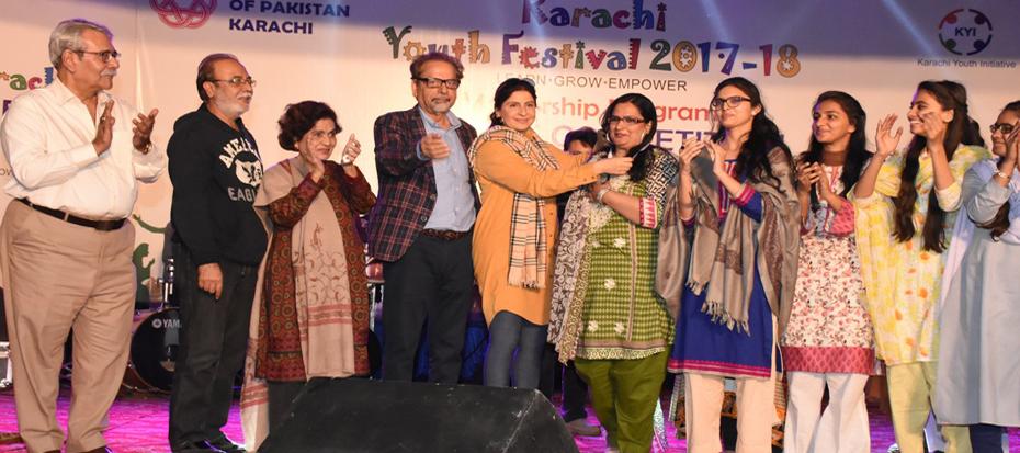 1st District Competition- Korangi for Karachi Youth Festival 2017-18