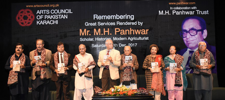 Remembering great services rendered by Mr. M.H Panhwar
