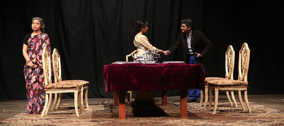"Theater ""Hua Kuch Yoon"" welcomed the members of Arts Council"