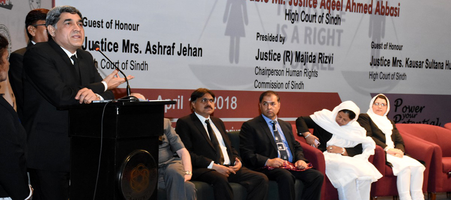 First Women Law Conference was held today at Arts Council
