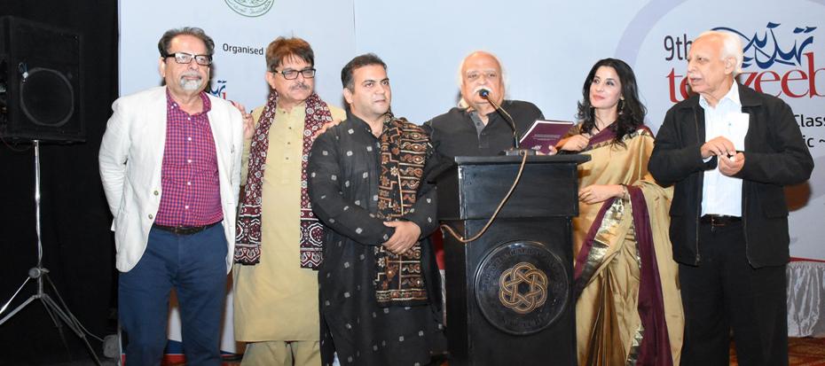 9th Tehzeeb Festival and Awards held at the Arts Council Karachi
