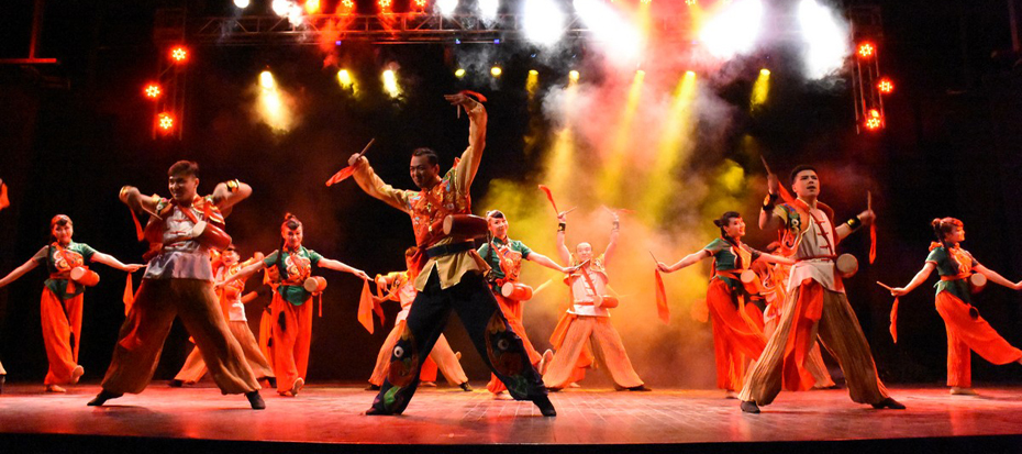 """The 2nd day; """"Impressions of The Tang Dynasty"""" The Spirit of The New Silk Road, performed by The Baoji Art Theatre"""