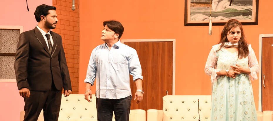 "5th day of Awami Theater Festival: Comedy Play ""Meharban Kaisey Kaisey"""