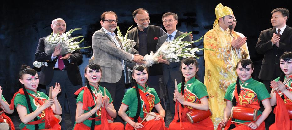 The Tang Dynasty braught to life at the Arts Council Karachi