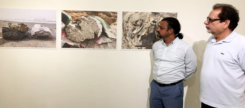 President arts council Ahmed Shah visited Chaukhandi Canvas, Koel, Sanat and Art Line galleries