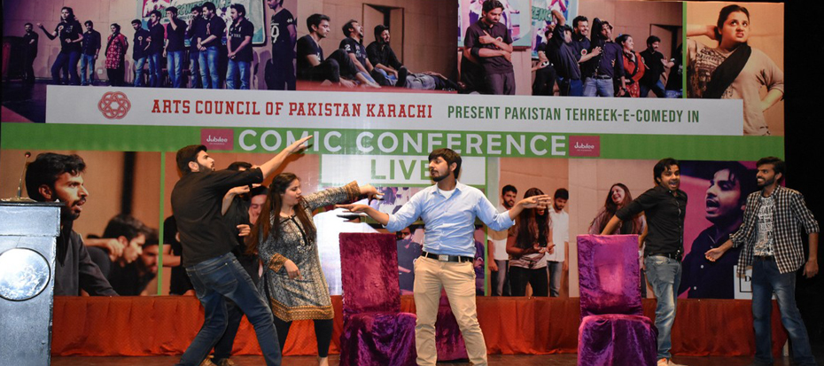"Tehreek-e-Comedy presented wonderful performance in ""Comic Conference"""