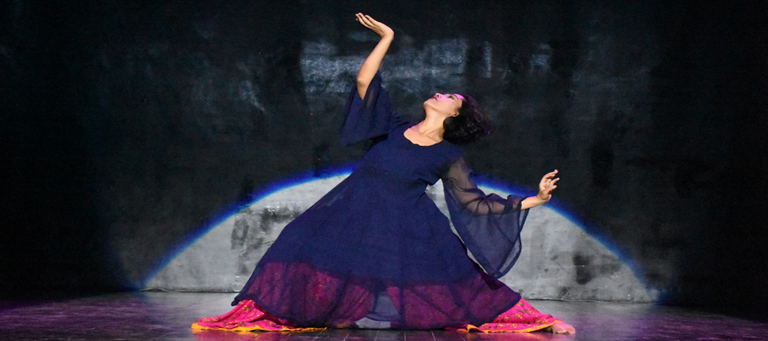Suhaee Abro, Wahab Shah and American Dancer Gillian Rhodes performed today
