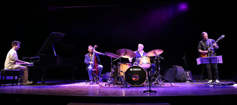 Europ's prominent jazz drummer band Wolfgang Haffner performed at Arts Council