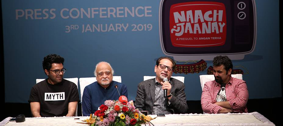 "Press Conference: ""Naach Na Jaanay"""