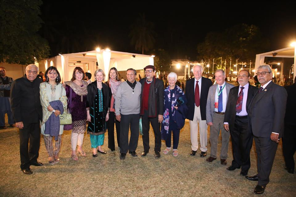 Arts Council hosted dinner in the honor of delegates