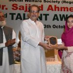 Dr. Sajjad Ahmed Khan, 23rd Talent Award