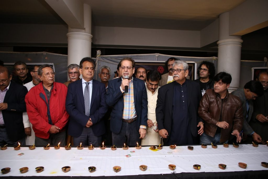 Arts Council: Candlelight Vigil for APS Martyrs