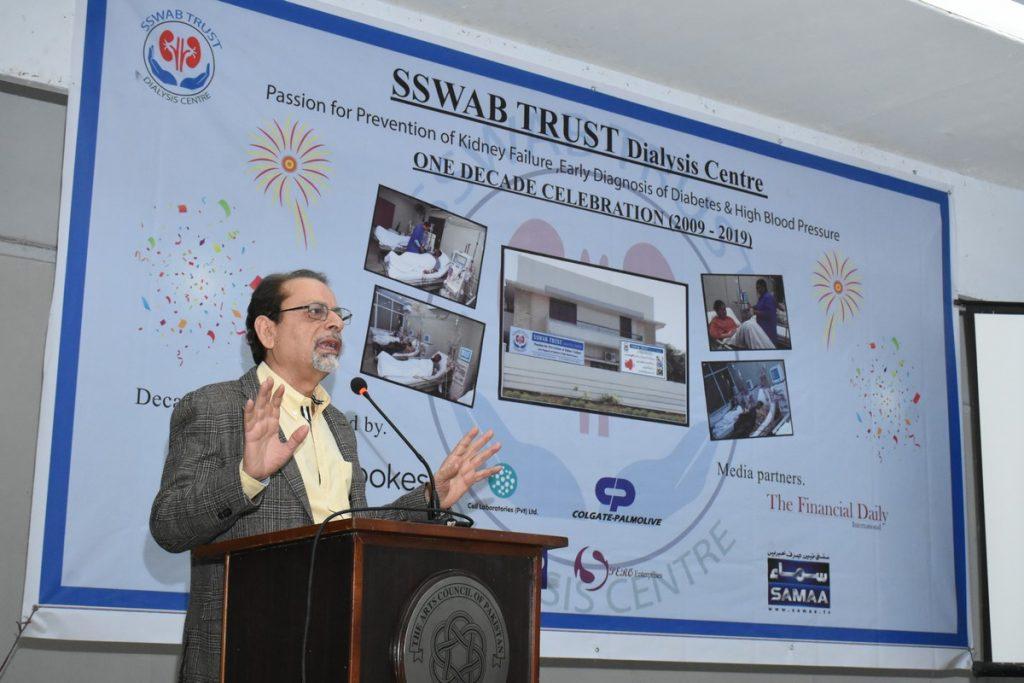 SSWAB One Decade celebrations