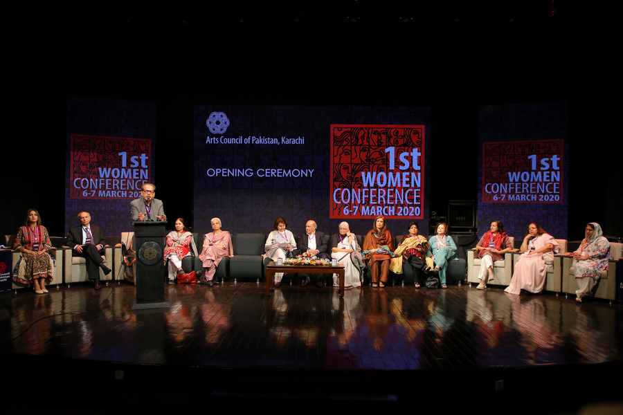 Arts Council hosted 1st Women Conference