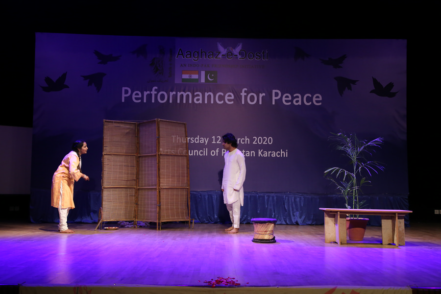 'Performance For Peace'