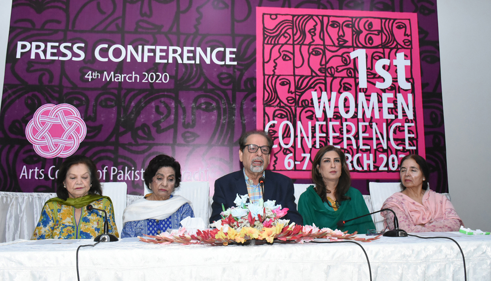 Arts Council announces 1st Women Conference