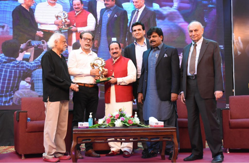 Ustad Rahat Fateh Ali awarded with the Lifetime Achievement & Honorary Membership