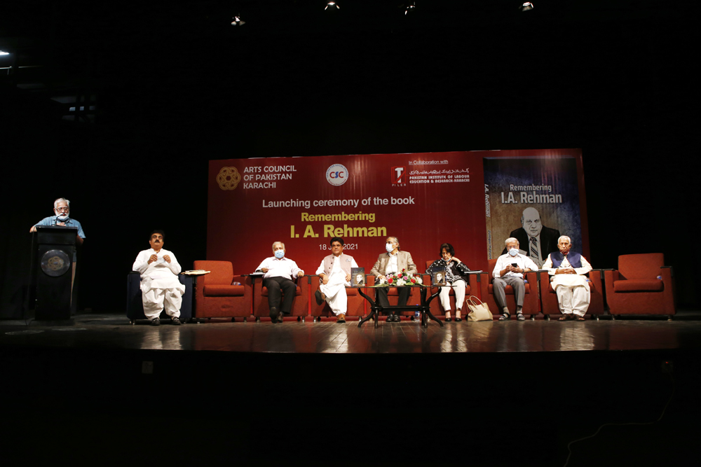 Homage paid to I.A. Rehman at book launch